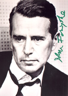JOHN FORSYTHE - AUTOGRAPHED SIGNED PHOTOGRAPH
