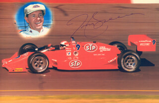 TOM SNEVA - AUTOGRAPHED SIGNED PHOTOGRAPH