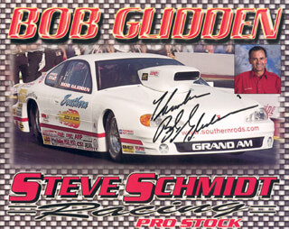 BOB GLIDDEN - AUTOGRAPHED SIGNED PHOTOGRAPH