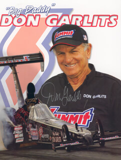 Autographs: DON BIG DADDY GARLITS - PHOTOGRAPH SIGNED
