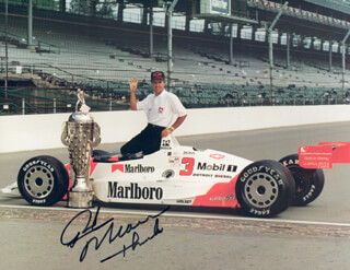 RICK MEARS - AUTOGRAPHED SIGNED PHOTOGRAPH