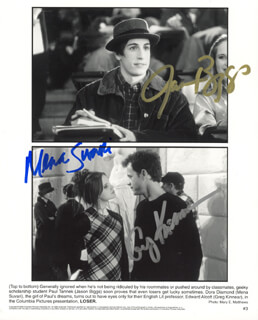LOSER MOVIE CAST - AUTOGRAPHED SIGNED PHOTOGRAPH CO-SIGNED BY: GREG KINNEAR, MENA SUVARI, JASON BIGGS