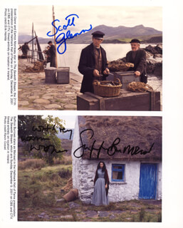 THE SEVENTH STREAM MOVIE CAST - AUTOGRAPHED SIGNED PHOTOGRAPH CO-SIGNED BY: SCOTT GLENN, SAFFRON BURROWS