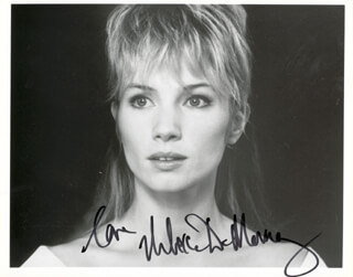 REBECCA DE MORNAY - AUTOGRAPHED SIGNED PHOTOGRAPH