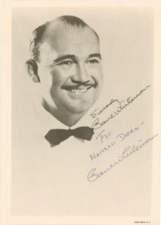 PAUL POPS WHITEMAN - AUTOGRAPHED INSCRIBED PHOTOGRAPH