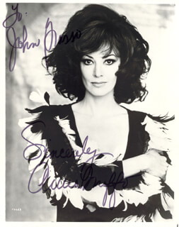 ANNA MOFFO - AUTOGRAPHED INSCRIBED PHOTOGRAPH