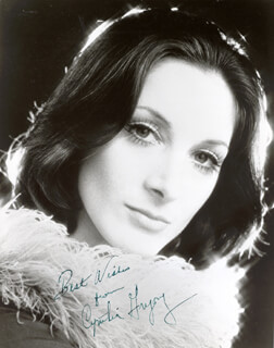 CYNTHIA GREGORY - AUTOGRAPHED SIGNED PHOTOGRAPH