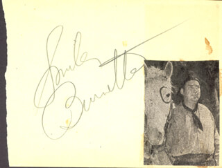 SMILEY (LESTER) BURNETTE - AUTOGRAPH  - HFSID 272818