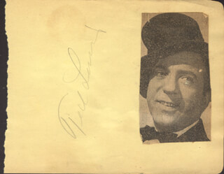 TED LEWIS - AUTOGRAPH CO-SIGNED BY: EVELYN O'CONNELL, PEGGY O'CONNELL, MARGY O'CONNELL, BABS O'CONNELL