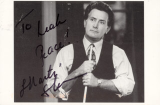 MARTIN SHEEN - AUTOGRAPHED INSCRIBED PHOTOGRAPH CIRCA 2000