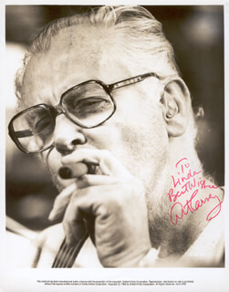ART CARNEY - AUTOGRAPHED INSCRIBED PHOTOGRAPH