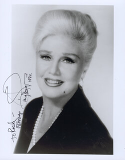 GINGER ROGERS - AUTOGRAPHED INSCRIBED PHOTOGRAPH 1992