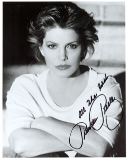 PRISCILLA A. PRESLEY - AUTOGRAPHED SIGNED PHOTOGRAPH