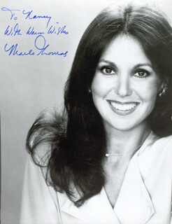 MARLO THOMAS - AUTOGRAPHED INSCRIBED PHOTOGRAPH
