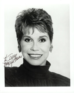 MARY TYLER MOORE - AUTOGRAPHED INSCRIBED PHOTOGRAPH