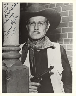 PIERCE LYDEN - AUTOGRAPHED INSCRIBED PHOTOGRAPH 1987