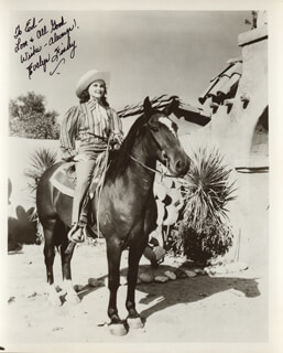EVELYN FINLEY - AUTOGRAPHED INSCRIBED PHOTOGRAPH