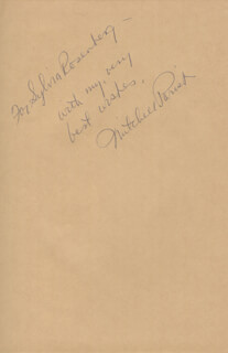MITCHELL PARISH - INSCRIBED BOOK SIGNED