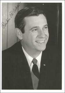 Autographs: GOVERNOR REUBIN ASKEW - PHOTOGRAPH SIGNED
