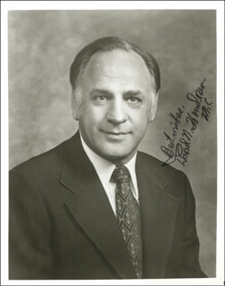 Autographs: DAVID N. HENDERSON - PHOTOGRAPH SIGNED