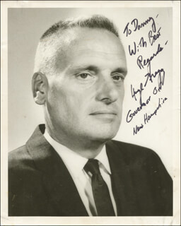 HUGH GREGG - AUTOGRAPHED INSCRIBED PHOTOGRAPH