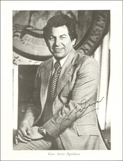 JERRY APODACA - AUTOGRAPHED SIGNED PHOTOGRAPH