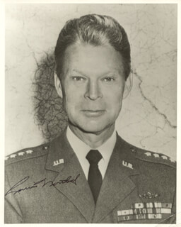 GENERAL LAURIS NORSTAD - AUTOGRAPHED SIGNED PHOTOGRAPH