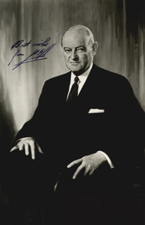 JOHN S. KNIGHT - AUTOGRAPHED SIGNED PHOTOGRAPH
