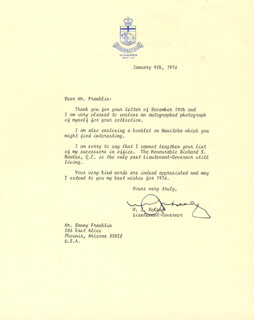 WILLIAM J. McKEAG - TYPED LETTER SIGNED 01/09/1976