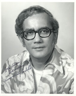 Autographs: GOVERNOR RICARDO J. BORDALLO (GUAM) - PHOTOGRAPH SIGNED