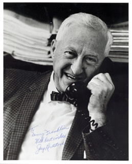 JAY LOVESTONE - AUTOGRAPHED INSCRIBED PHOTOGRAPH