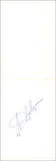 Autographs: ANATOLY F. DOBRYNIN - GREETING CARD SIGNED