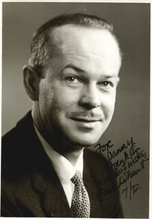 JACK DE MENT - AUTOGRAPHED INSCRIBED PHOTOGRAPH 7/1972