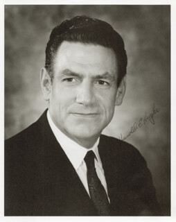 HAROLD E. HUGHES - AUTOGRAPHED SIGNED PHOTOGRAPH