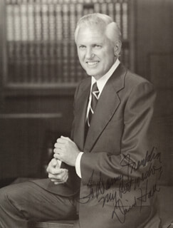 DAVID HALL - AUTOGRAPHED INSCRIBED PHOTOGRAPH