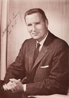 WILLIAM L. GUY - AUTOGRAPHED SIGNED PHOTOGRAPH 01/18/1974