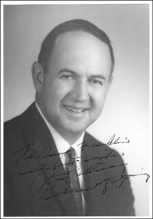 Autographs: STANLEY K. HATHAWAY - INSCRIBED PHOTOGRAPH SIGNED