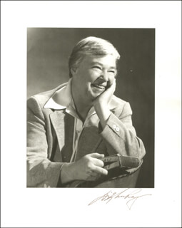 DIXY LEE RAY - AUTOGRAPHED SIGNED PHOTOGRAPH
