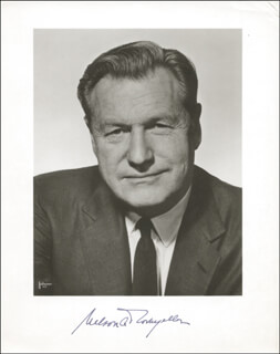 VICE PRESIDENT NELSON A. ROCKEFELLER - AUTOGRAPHED SIGNED PHOTOGRAPH
