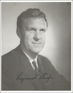 GOVERNOR RAYMOND P. SHAFER - AUTOGRAPHED SIGNED PHOTOGRAPH