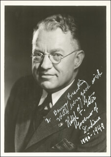 RALPH F. GATES - AUTOGRAPHED INSCRIBED PHOTOGRAPH