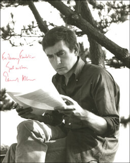 EDWARD ALBEE - AUTOGRAPHED INSCRIBED PHOTOGRAPH