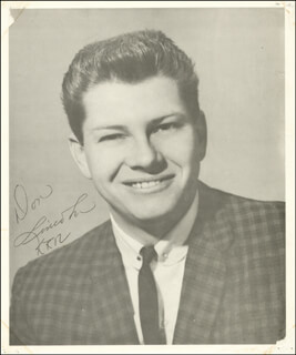 DON LINCOLN - AUTOGRAPHED SIGNED PHOTOGRAPH