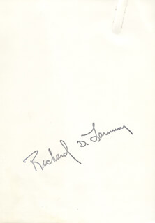 GOVERNOR RICHARD D. LAMM - AUTOGRAPHED SIGNED PHOTOGRAPH