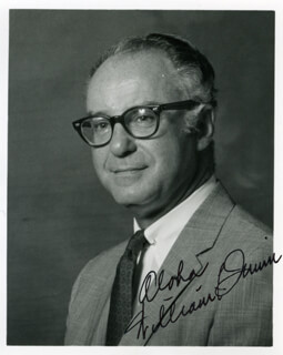 WILLIAM QUINN - AUTOGRAPHED INSCRIBED PHOTOGRAPH