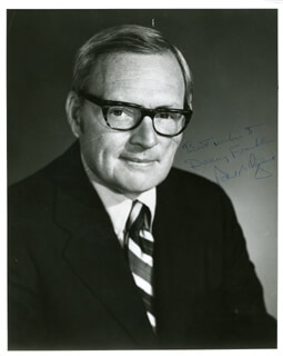 GOVERNOR RICHARD B. OGILVIE - AUTOGRAPHED INSCRIBED PHOTOGRAPH