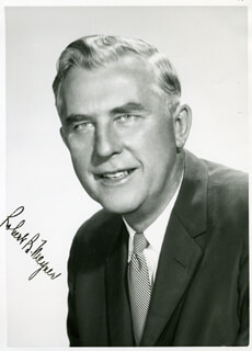 GOVERNOR ROBERT B. MEYNER - AUTOGRAPHED SIGNED PHOTOGRAPH