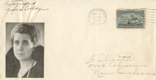 FIRST LADY GRACE COOLIDGE - ENVELOPE SIGNED CIRCA 1933