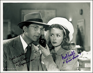 SUPERMAN MOVIE CAST - AUTOGRAPHED SIGNED PHOTOGRAPH CO-SIGNED BY: NOEL NEILL, KIRK ALYN