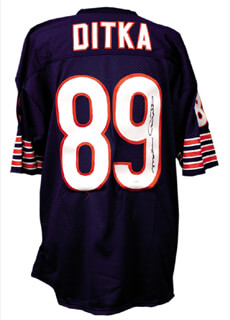 Autographs: MIKE DITKA - JERSEY SIGNED